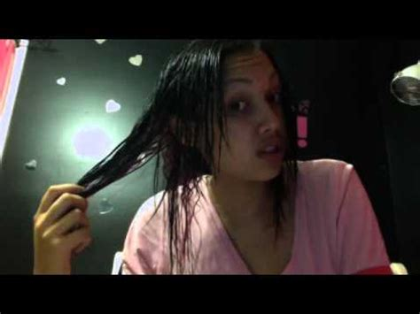 wash hair after japanese straight picture 1