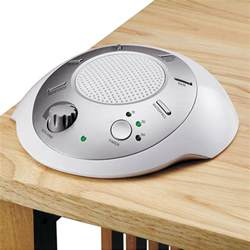 homedics sound spa white noise machine sleep therapy picture 1