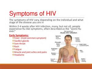 early signs and symptoms of hiv infection in picture 14