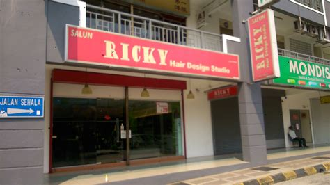 ricky ewing hair salon picture 1