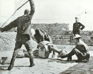 south african caning british picture 3