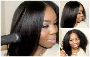 black peoples hair straightened picture 13