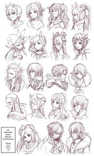 anime hair styles picture 2