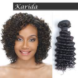 cheap 'yaky deep wave weave hair picture 9
