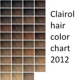 clariol hair color chart picture 1
