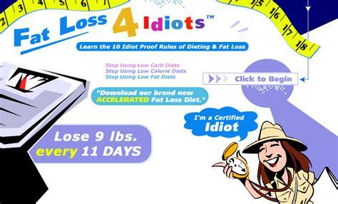 fat loss 4 idiots dieet picture 1