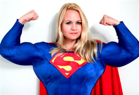female super muscle morph picture 11