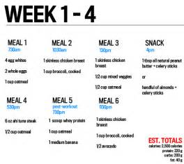 6 day week month diet picture 1