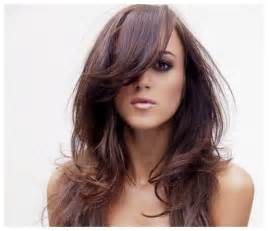 Bangs hairstyles on long hair picture 7