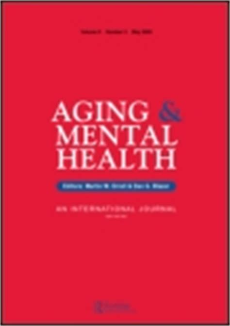 aging and mental health picture 3