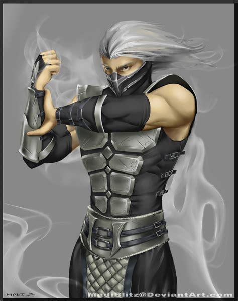 mortal kombat armageddon character info. human smoke picture 9