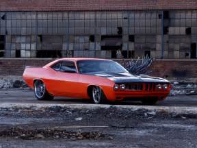 muscle car barracuda picture 2