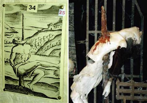 female crucifixion for punishment and pain picture 10