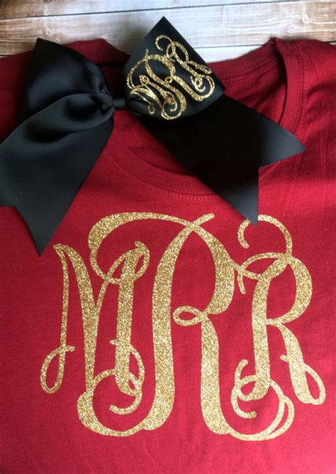 monogrammed girls hair s picture 1