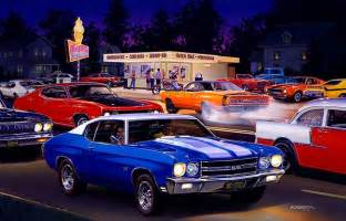 muscle car art picture 3
