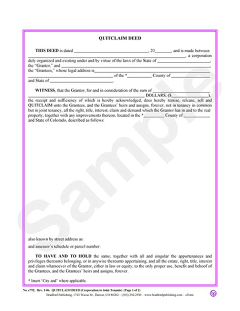 quit deed with joint tenancy georgia picture 3