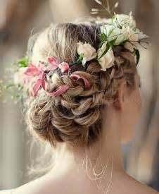 bridal hair styles with flowers picture 7