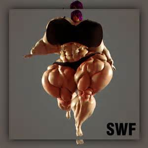 insanely huge female muscle morphs picture 6