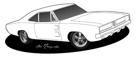 drawing old muscle cars picture 15