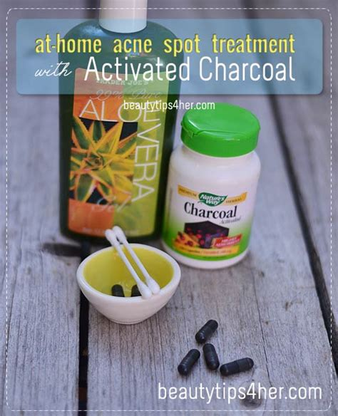 effects of charcoal to treat acne picture 11
