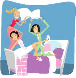 clip art with sleep over partys picture 6