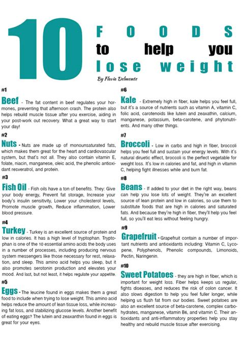 list foods to help loss weight picture 2