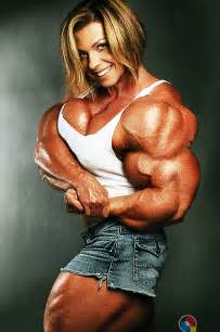 morphed muscle women picture 1