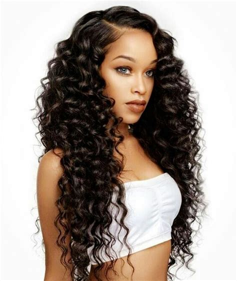 black hair weave picture 6