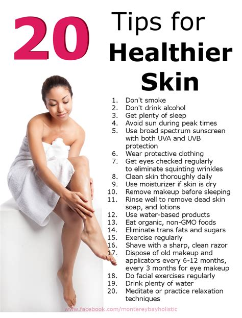 healthy skin tips picture 1