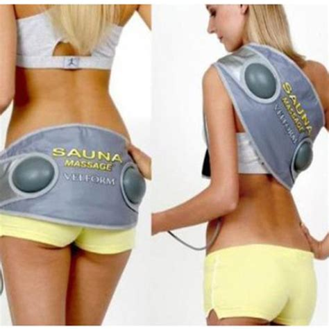 tummy weight loss heated suana picture 10