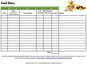 diabetic food diary sample picture 14