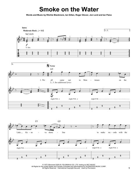 smoke on the water guitar tab picture 8