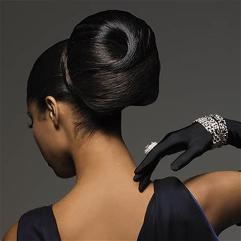 black hair up-dos picture 1