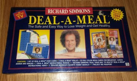 Richard simmons deal a meal weight loss program picture 1