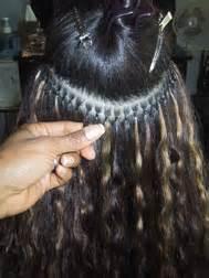 flat hair weave technique picture 1