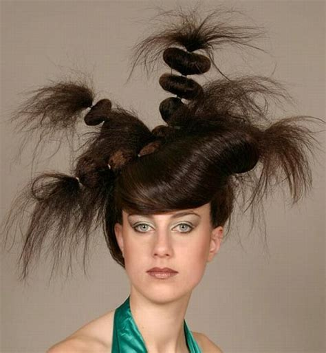 crazy hair styles picture 2