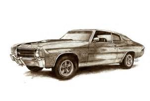 drawing old muscle cars picture 7