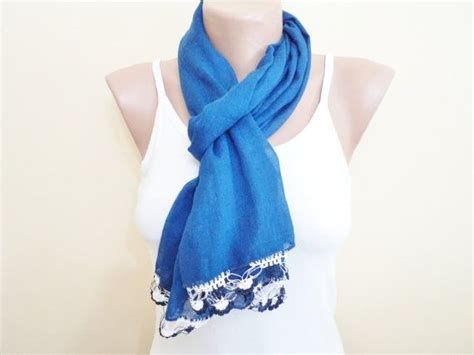 theresa correa blue scarf picture 1
