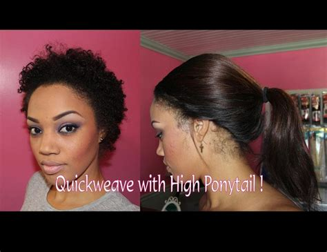 can i put weave on my short hair picture 7