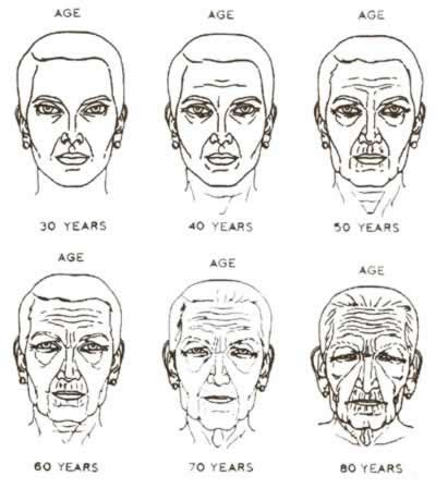 the human face gradually aging pictures picture 10