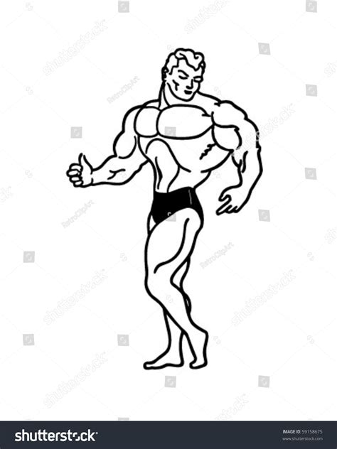 free muscle man clipart picture 18