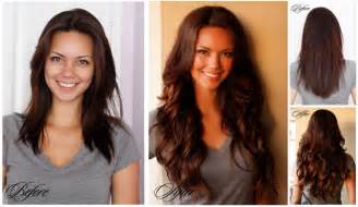 culry hair before and after picture 2