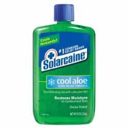sunburn pain relief picture 7