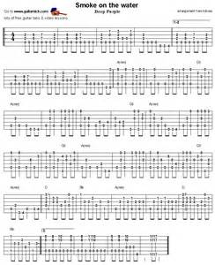 smoke on the water guitar tabs picture 5
