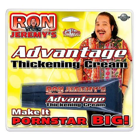 what is in ron jeremy's advantage thickening cream picture 1