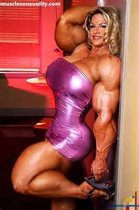 breast expansion and female muscle growth morphs picture 2