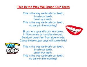 bushing teeth song and preschook picture 14