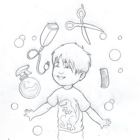 coloring pages on hair picture 17