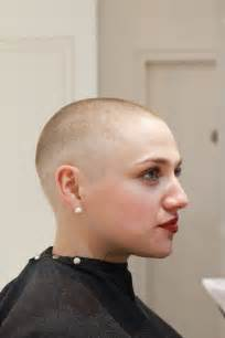 female bald head shave picture 2