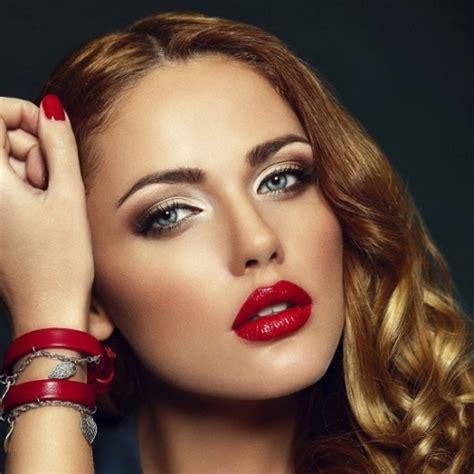 womens lips wearing lip gloss picture 9
